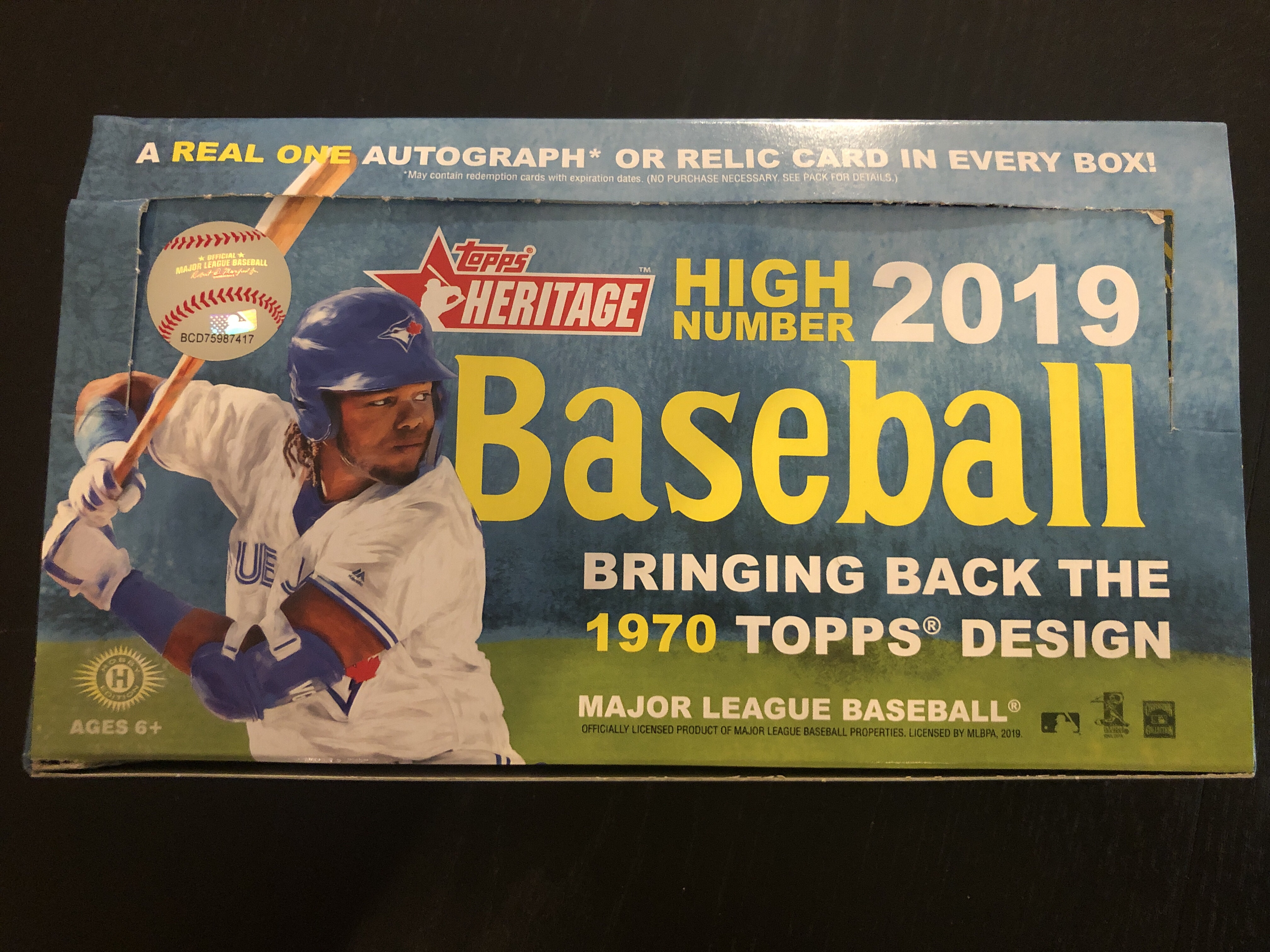Inside the Pack: 2019 Topps Heritage High Number Review