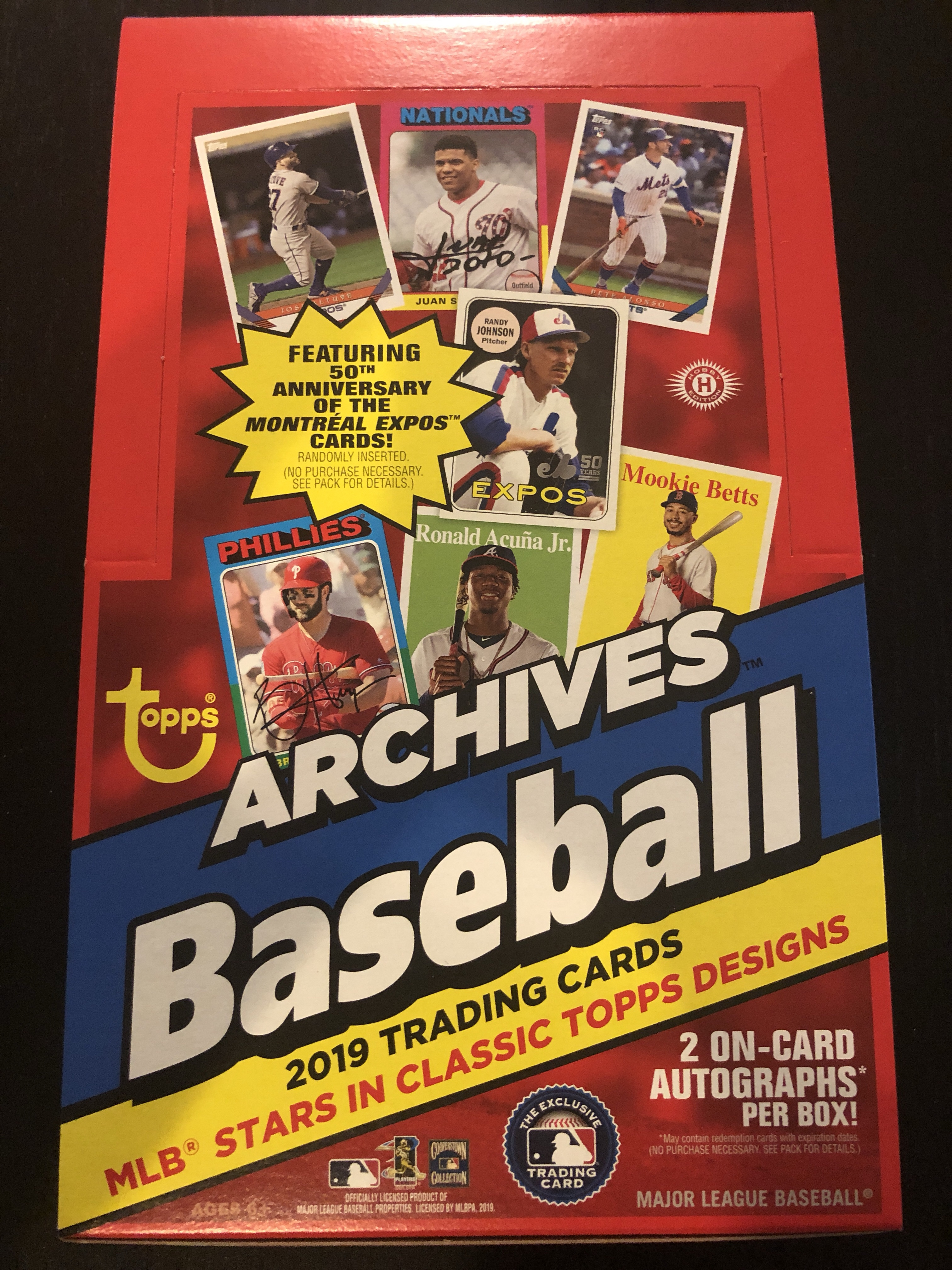 Inside the Pack: 2019 Topps Archives Review