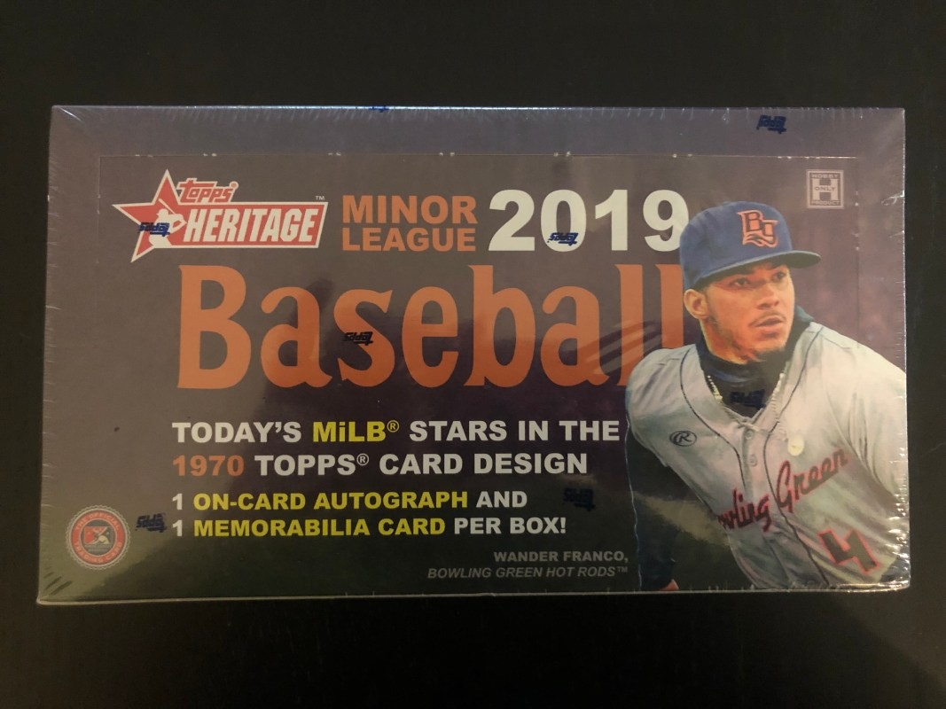 Inside the Pack: 2019 Topps Heritage Minors Review