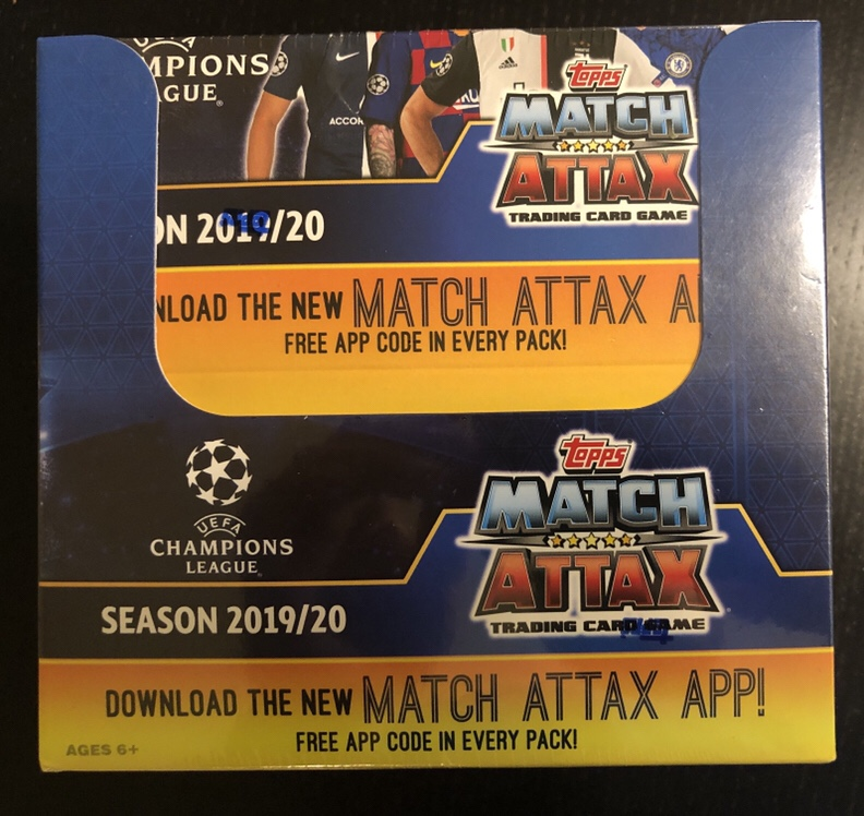 Inside the Pack: 2019-20 Topps Match Attax UEFA Champions League Review