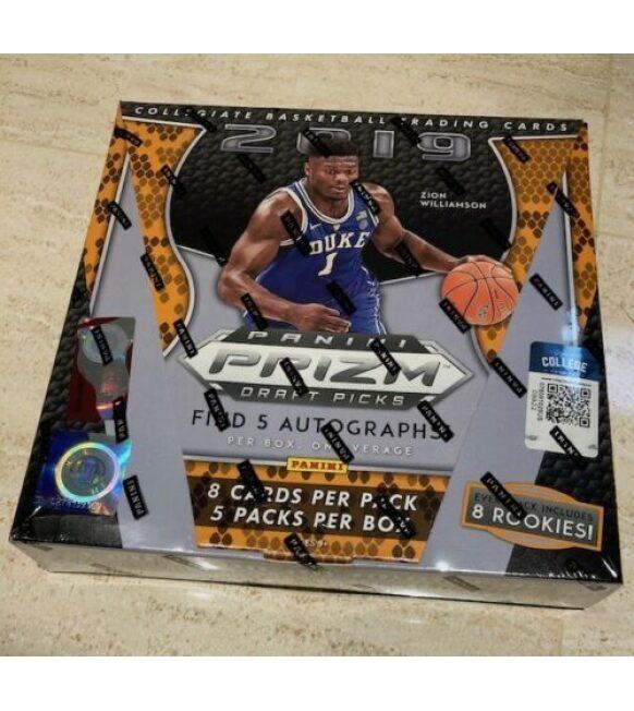 2019-20 Panini PRIZM Draft Picks Basketball Factory Sealed Hobby Box