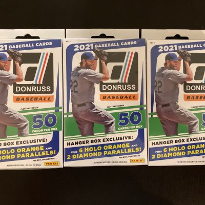 Inside the Pack: 2021 Donruss Baseball Retail Hanger Pack Review