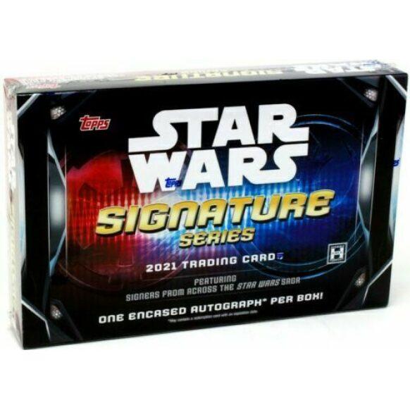 2021 Topps Star Wars Signature Series Box