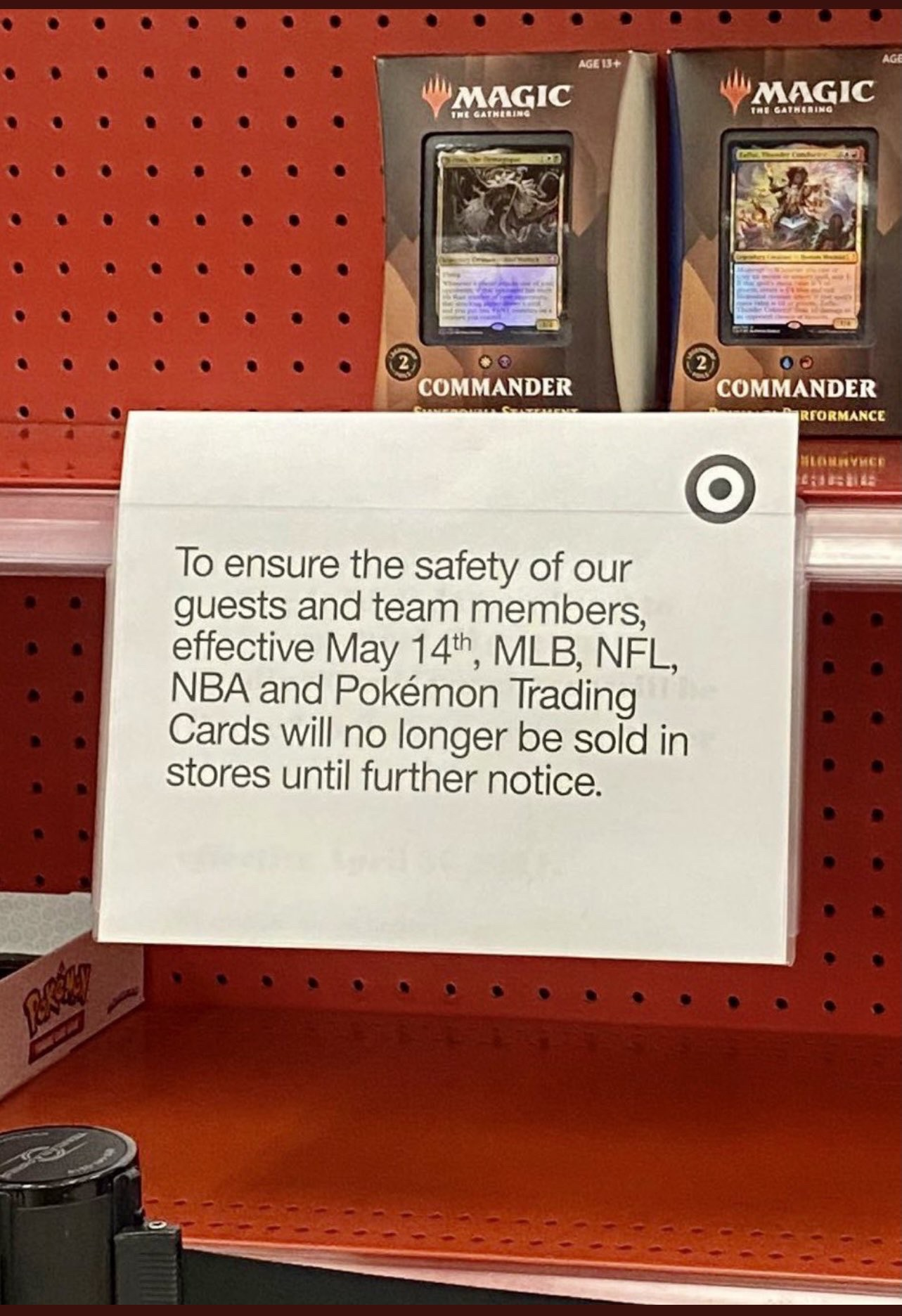Inside the Pack: Target to Pause Retail Sports and Pokemon Card Sales