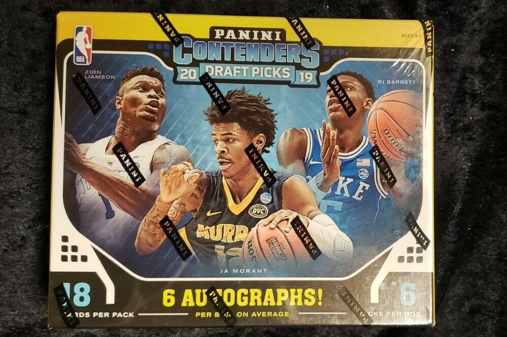 2019/20 Panini Contenders Draft Picks Basketball Hobby Box