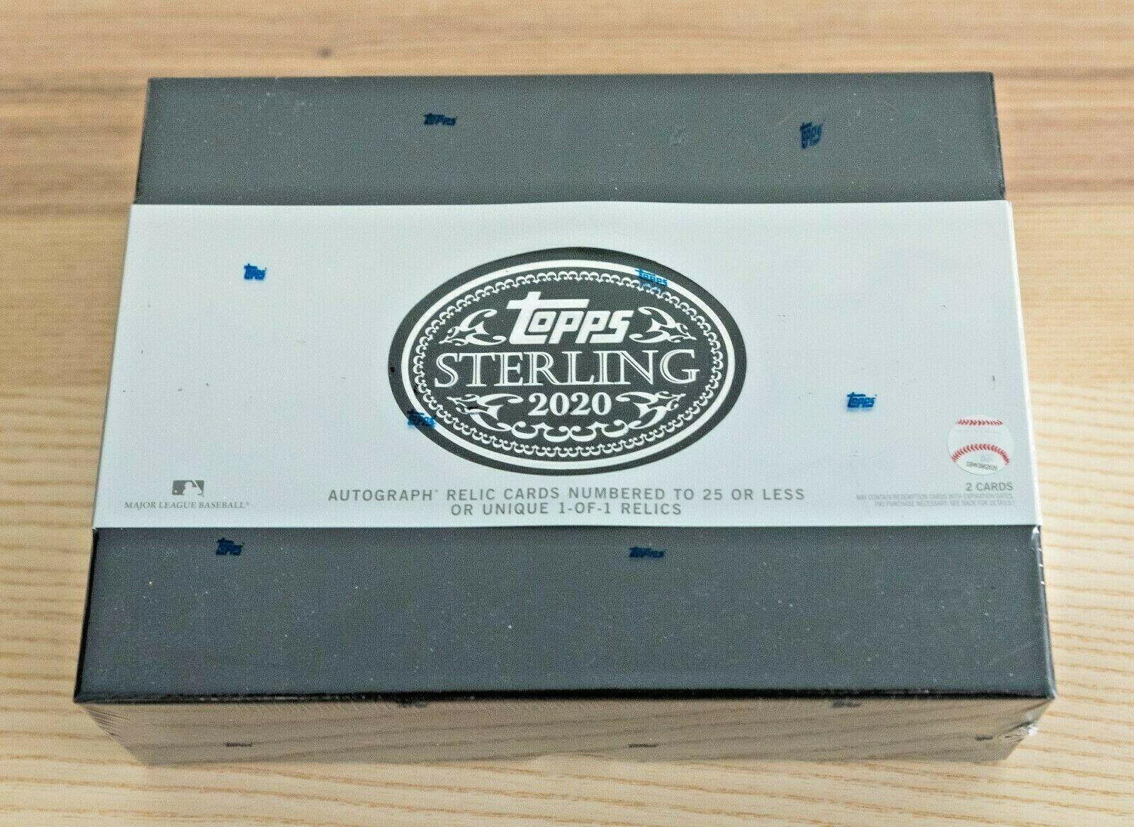 2020 Topps Sterling Baseball Hobby Box