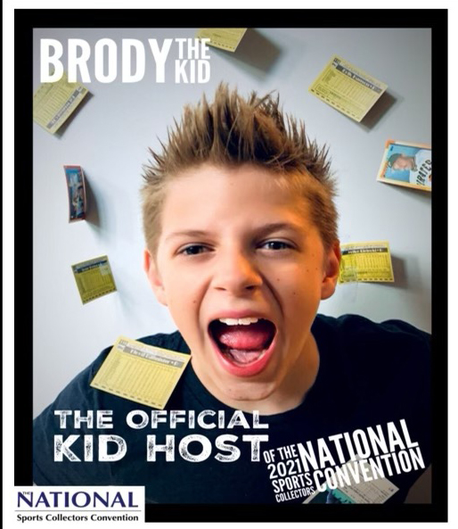 Riiip with Brody the Kid #24 2021 National Sports Collectors Convention Preview